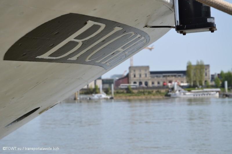 Biche à Bordeaux, le transport à la voile en héritage